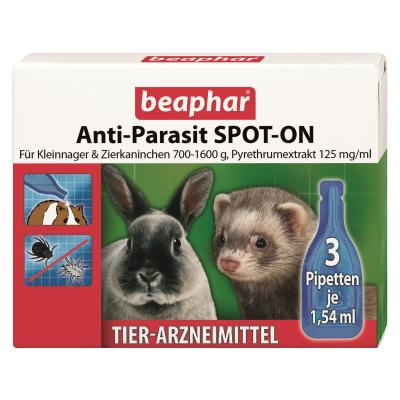 cd999569d1aa8 Beaphar Anti-Parasit Spot-On für Kleinnager 3 x 1