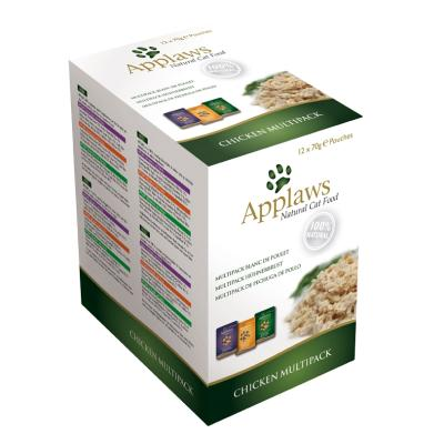 Applaws Pouch Multipack Hühnchen | 12 x 70g
