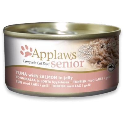 Applaws Dose Senior Thunfisch & Lachs in Gelee 70g