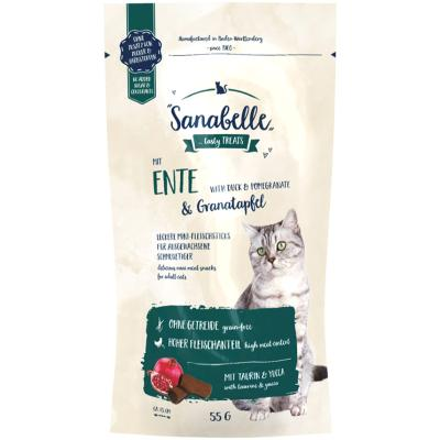 Sanabelle Cat Sticks Ente & Granatapfel 55g