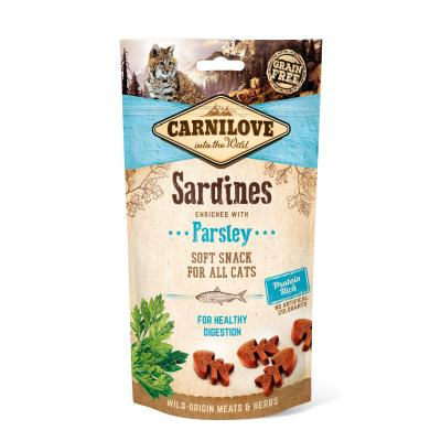 Carnilove Cat Soft Snack | Sardine with Parsley 50 g