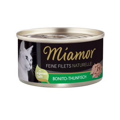 Miamor Feine Filets naturelle Bonito Thunfisch | 80g