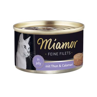 Miamor Feine Filets Thun & Calamari | 100g