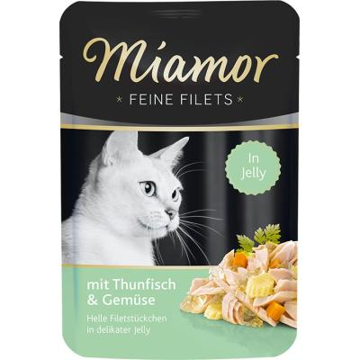 Miamor Feine Filets Thunfisch & Gemüse in Jelly | 100g
