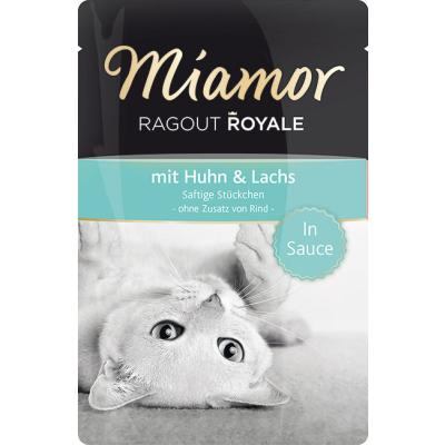 Miamor Ragout Royale Huhn & Lachs in Sauce 100g