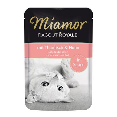 Miamor Ragout Royale Thunfisch & Huhn in Sauce 100g