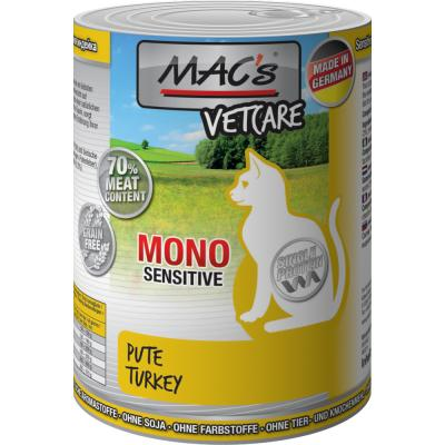 MAC´s Cat Mono Sensitive Pute 400g