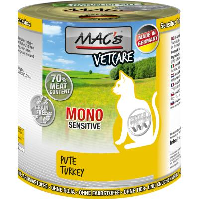 MAC´s Cat Mono Sensitive Pute 800g