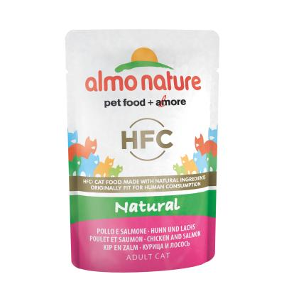 Almo Nature Classic Pouch Huhn & Lachs 55g