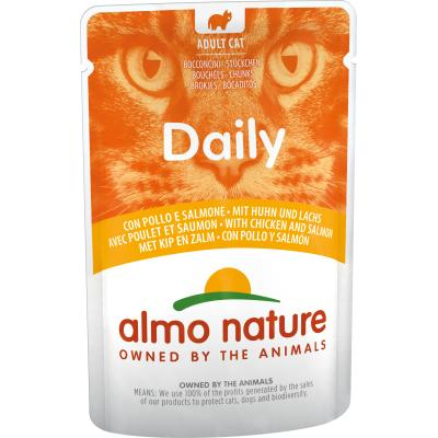 Almo Nature Daily Huhn & Lachs 70g