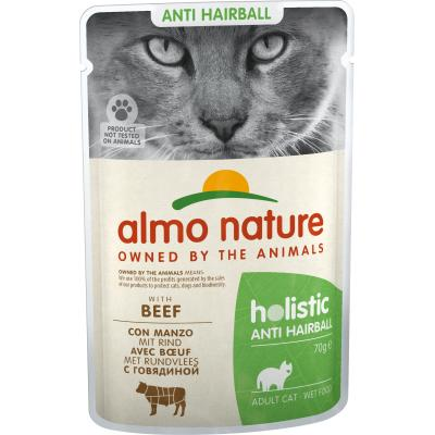 Almo Nature Functional Anti-Hairball mit Rind 70g
