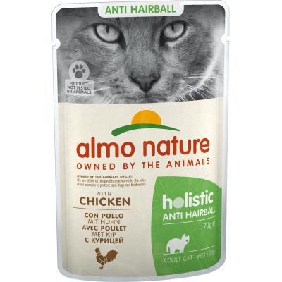 Almo Nature Functional Anti-Hairball mit Huhn 70g