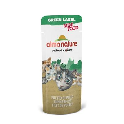 Almo Nature Green Label Mini Hühnerfilet 3g
