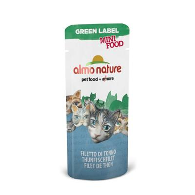 Almo Nature Green Label Mini Thunfischfilet 3g