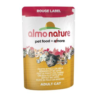 Almo Nature Rouge Label Hühnerfilet mit Apfel 55g