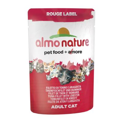 Almo Nature Rouge Label Thunfischfilet & Hummer 55g