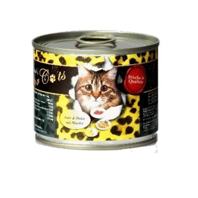 O´Canis for Cats mit Ente, Huhn & Distelöl 200g