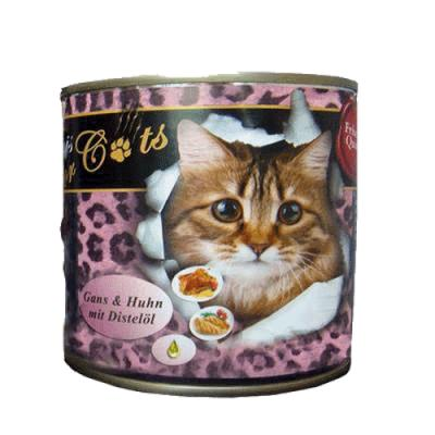 O´Canis for Cats mit Gans, Huhn & Distelöl 200 g