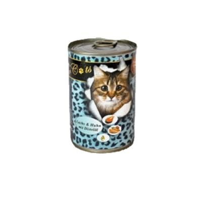 O´Canis for Cats mit Huhn, Lachs & Distelöl 400 g