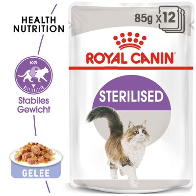 Royal Canin Sterilised in Gelee 85g