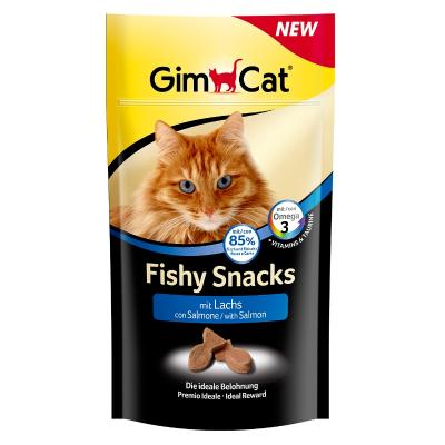 GimCat Fishy Snacks | mit Lachs 35g
