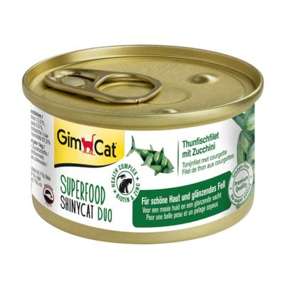 GimCat ShinyCat Superfood Duo Thunfischfilet mi...