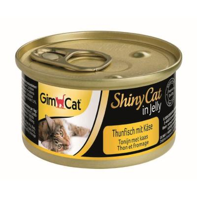 GimCat ShinyCat in Jelly Thunfisch & Käse | 70g