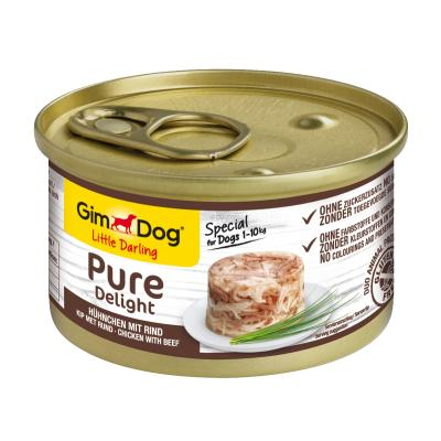 GimDog Pure Delight Hühnchen & Rind | 85g