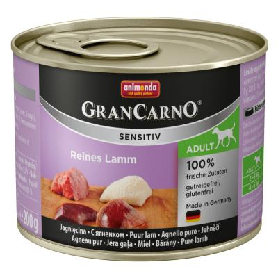Animonda GranCarno Sensitiv Lamm pur 200g