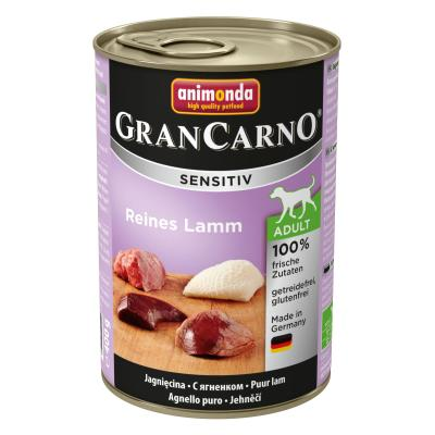 Animonda GranCarno Sensitiv Lamm pur 400g