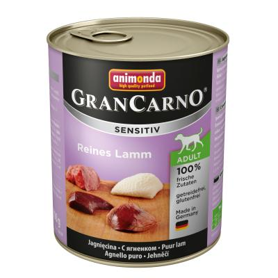 Animonda GranCarno Sensitiv Lamm pur 800g