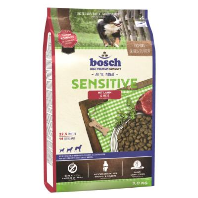 Bosch Sensitive Lamm & Reis 3kg