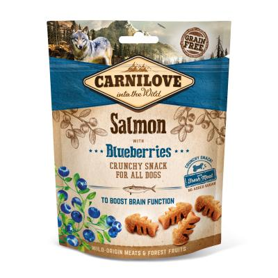 Carnilove Dog Crunchy Snack | Salmon with Blueberries 200g