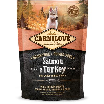 Carnilove Dog Puppy Large Breed Salmon & Turkey | 1,5kg