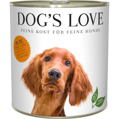 DOG'S LOVE Adult Pute | 800g