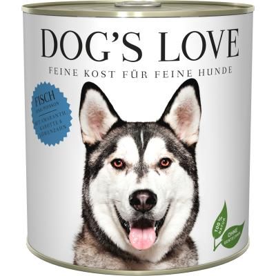 DOG'S LOVE Adult Fisch | 800g