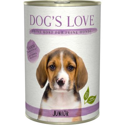 DOG'S LOVE Junior Lamm | 400g