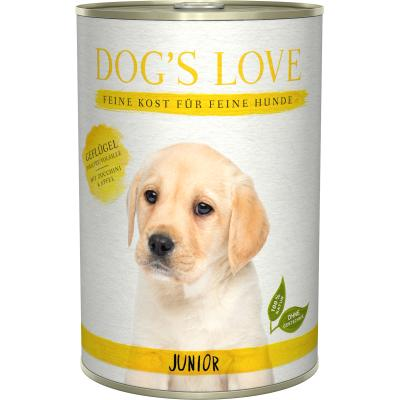 DOG'S LOVE Junior Geflügel | 400g