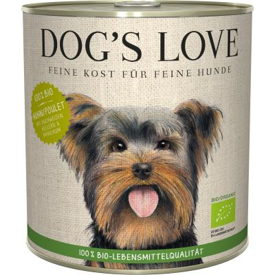 DOG'S LOVE Bio Huhn | 800g