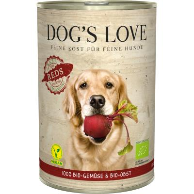 DOG'S LOVE Bio Vegan | Reds 400g