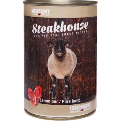 Steakhouse Lamm pur 410g