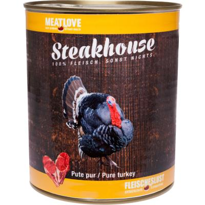 Steakhouse Pute pur 820g
