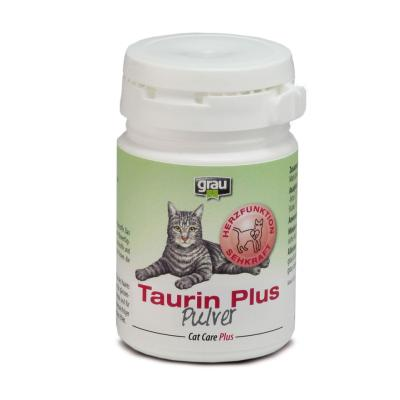 grau Cat Care Plus Taurin Plus Pulver 60g