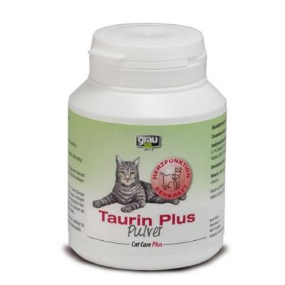 grau Cat Care Plus Taurin Plus Pulver 125g