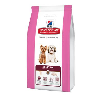 Hill´s Canine Small & Miniature Adult 1,5kg