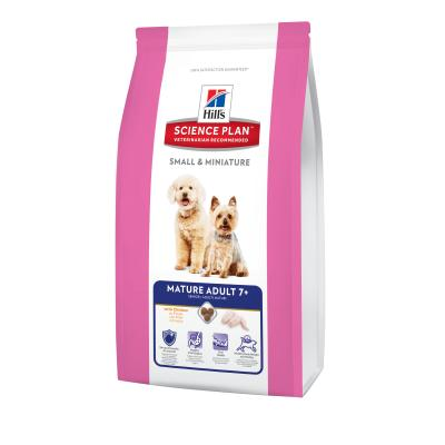 Hill´s Canine Small & Miniature Mature Adult 1,5kg