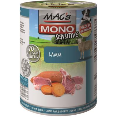 MAC´s Dog Mono Sensitive Lamm 400g