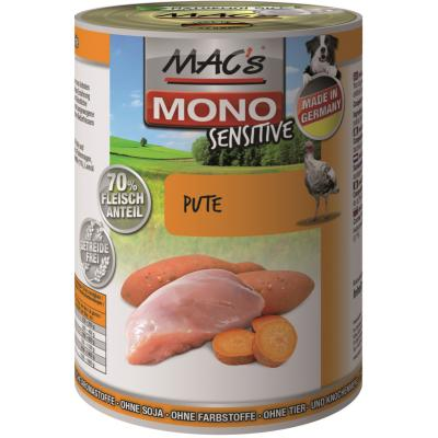 MAC's Dog Mono Sensitive Pute | 400g