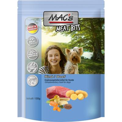 MAC's Dog Meat Bits | Rind 120g
