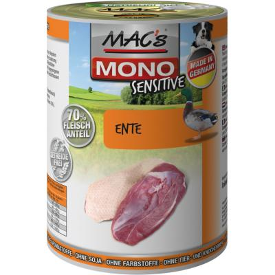 MAC´s Dog Mono Sensitive Ente 400g